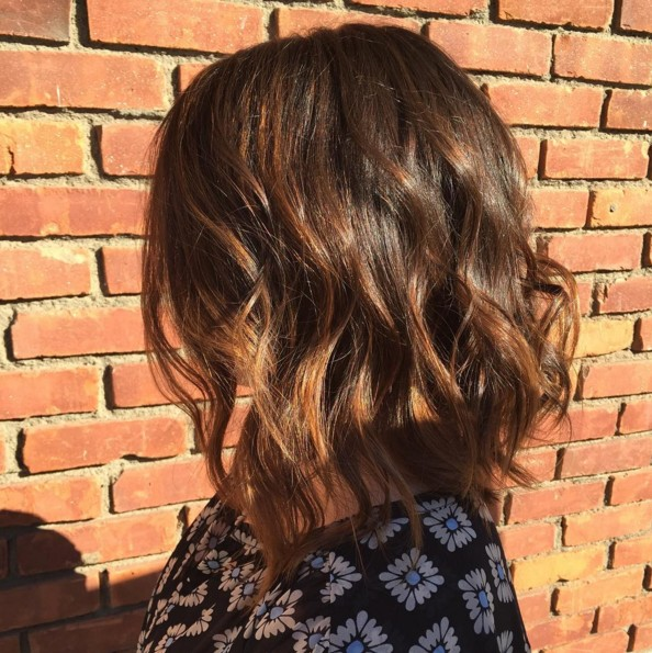 10 super fresh hairstyles for brown hair with caramel highlights via bob hairstyles for brown hair with caramel highlights pmusecretfo Images