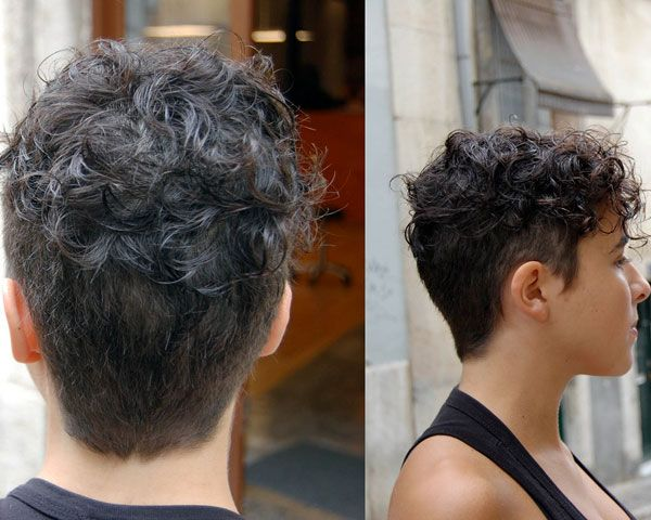 Very Short Hairstyles: 20 Gorgeous Wavy And Curly Pixie Hairstyles: Short Hair