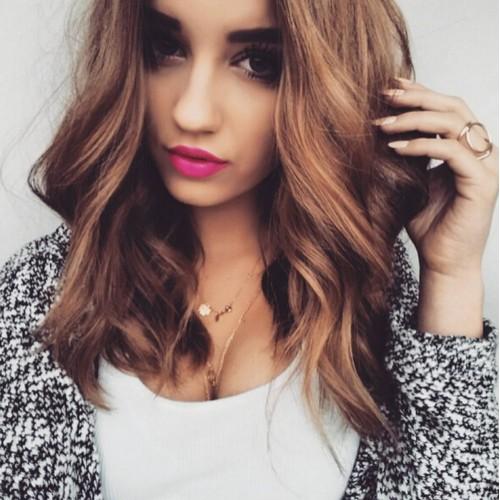 Peachy Cute Hairstyle For Layered Hair Best Hairstyles 2017 Short Hairstyles Gunalazisus