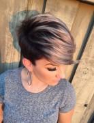 Cute, Short Haircut with Side Bangs - Summer Hairstyles 2016