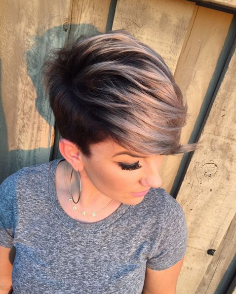 Cute, Short Haircut with Side Bangs - Summer Hairstyles