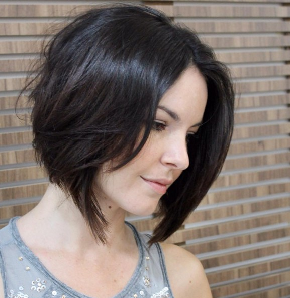 Cute, Straight Short Bob Cut