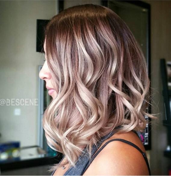 Edgy New Hair Color For Medium Hair Popular Haircuts