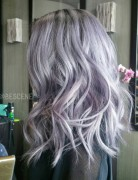 Edgy New Hair Color for Medium Length Hair