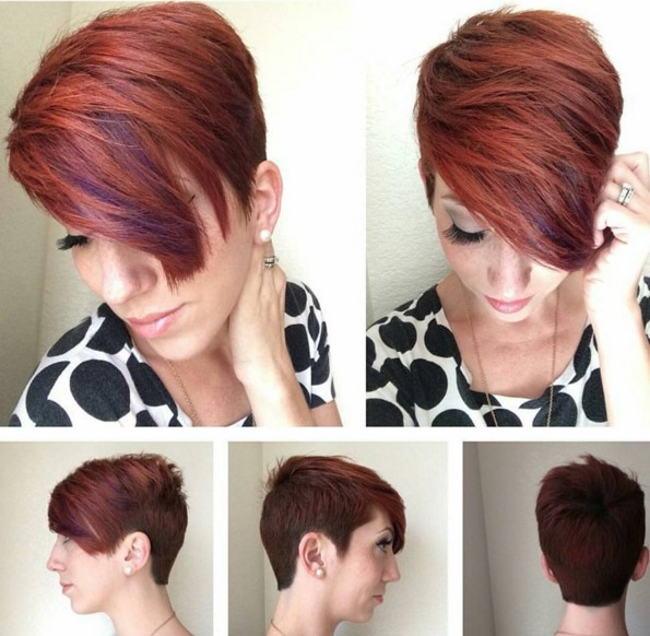 Gorgeous Short Pixie Hairstyle for Thick Hair - Haircuts