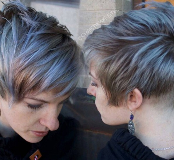 30 Stylish Short Hairstyles For Girls And Women: Curly