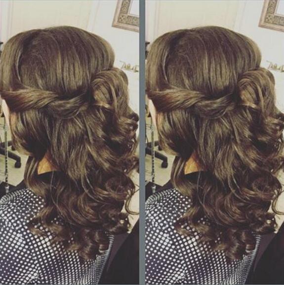Half,up Half,down Styles for Medium Hair , PoPular Haircuts