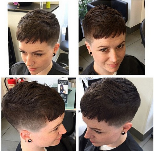 Layered Pixie Hairstyle - Summer Haircut Ideas 2016