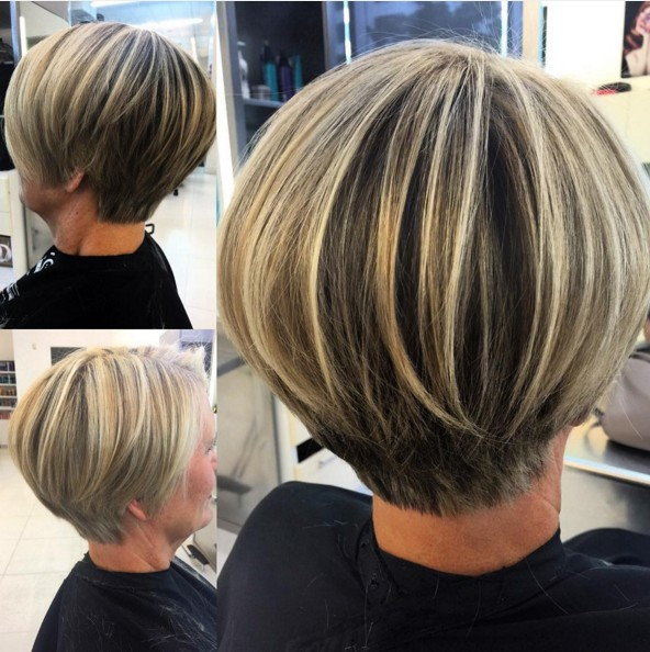 Layered Short Bob Hair Cuts Popular Haircuts