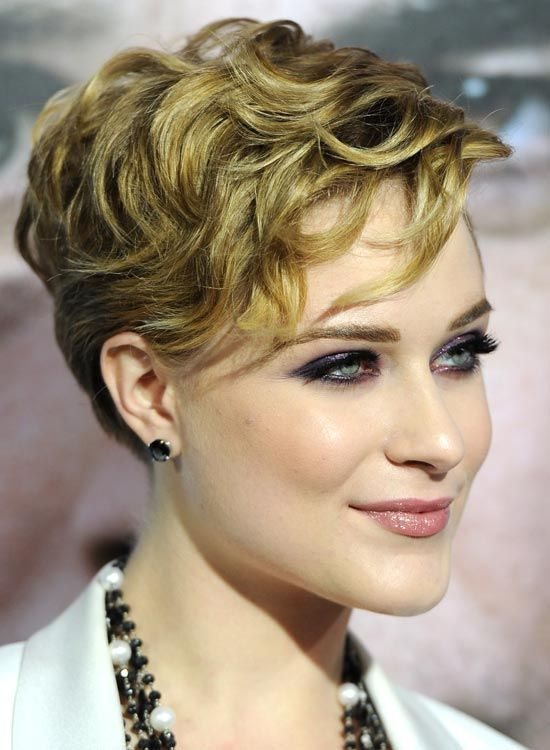 Curled Short Hair Styles 20 Gorgeous Wavy And Curly Pixie Hairstyles Short Hair Ideas .