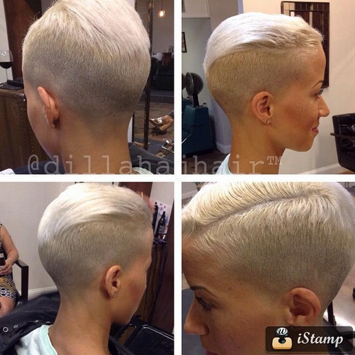 Light Blonde Hairstyle Ideas - Short Pixie Haircuts 2016