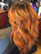 Messy Layered Haircut - Ombre Hairstyles