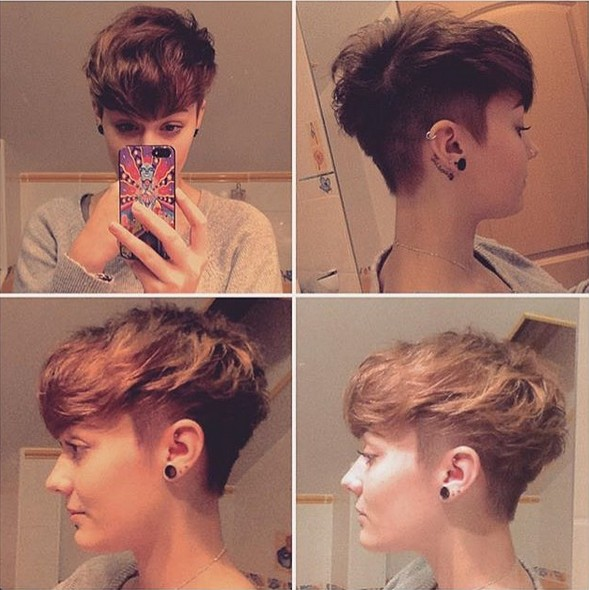 30 Stylish Short Hairstyles For Girls And Women Curly Wavy