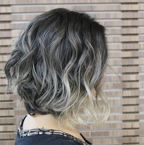 Ombre Bob Hair Style