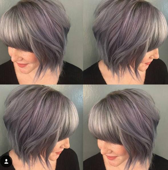 Shag Bob Haircut - Short Hairstyle Ideas