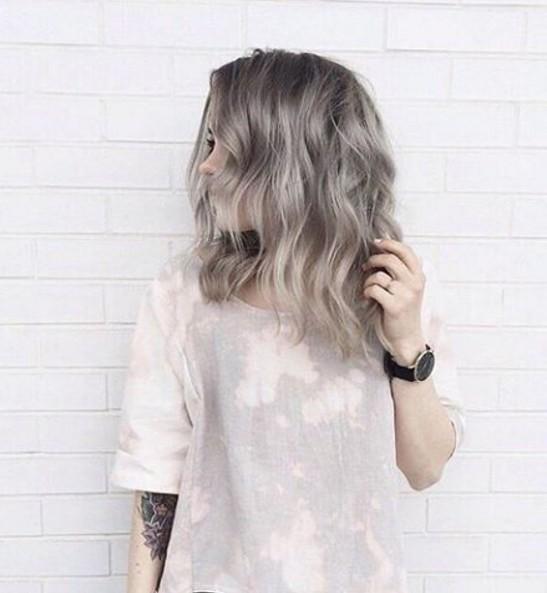 Shag Hairstyle for Medium Hair