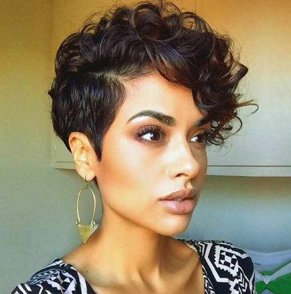 pixie haircut styles for curly hair 30 stylish hairstyles curly wavy hair 5186