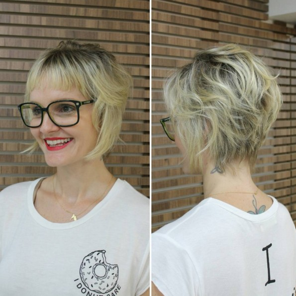 Short Haircuts for Fine Hair - Women Hairstyles for Summer