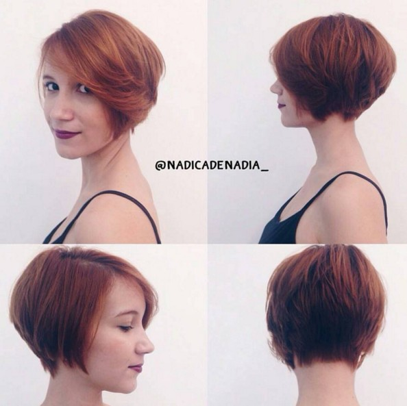 Short Hairstyles for Girls and Women: Curly, Wavy, Straight Hair ...