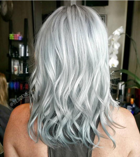 stylish hair color for medium length hair popular haircuts