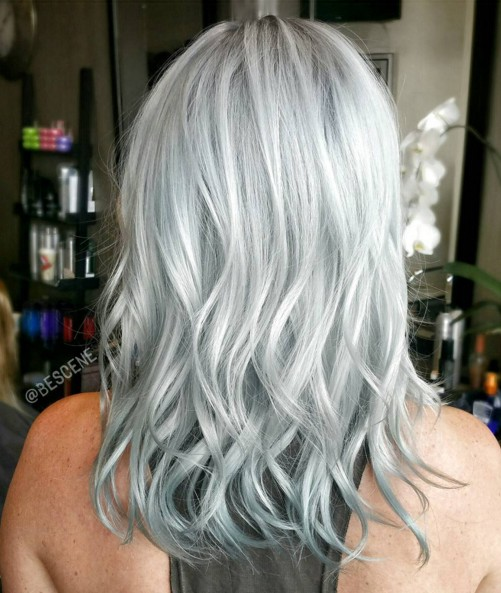 Stylish Hair Color for Medium Length Hair
