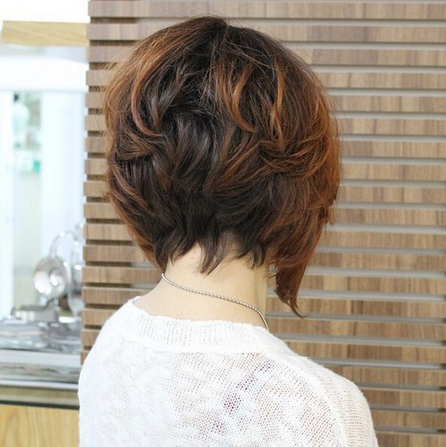 Trendy Hair Color with Bob