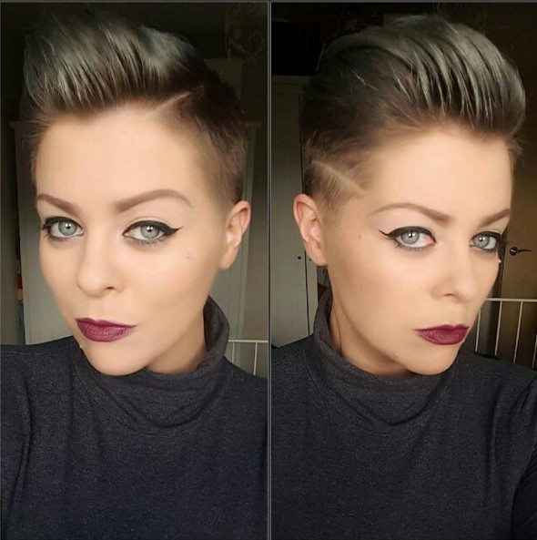 Trendy Shaved Pixie Haircut - Short Hairstyles for Fine Hair