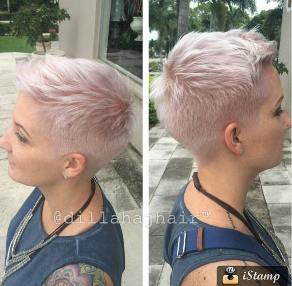 Very Short Hairstyle - Summer Haircut Ideas