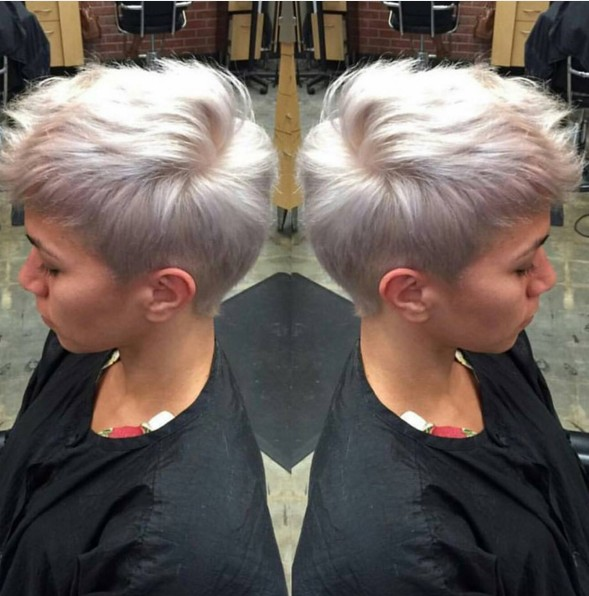 Very Short Hairstyle