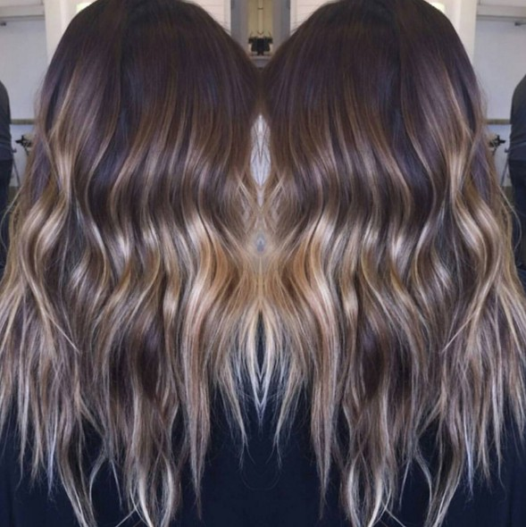 Wavy, Long Hair
