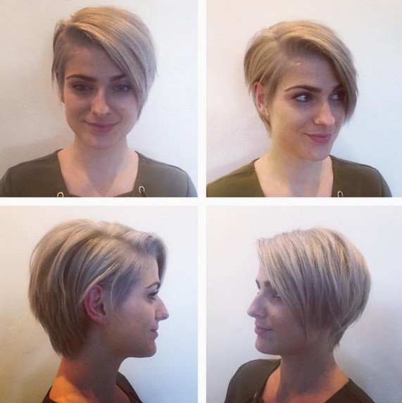 A-line Short Haircut