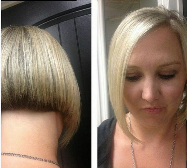 Blonde Bob Cut