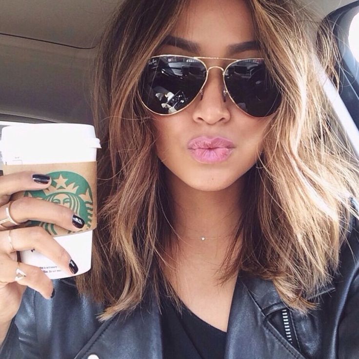 Awesome 27 Beautiful Long Bob Hairstyles Shoulder Length Hair Cuts Short Hairstyles For Black Women Fulllsitofus