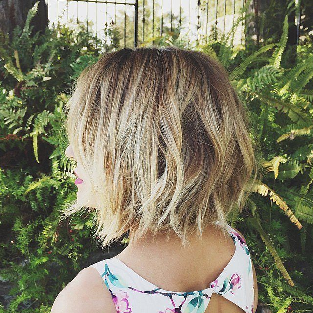 Layered Bob Hairstyles For Fine Thin Hair 56