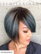 Fashion-A-line-Bob-Haircut-with-bangs-for-short-hair