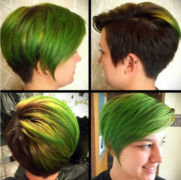 Great Cut and Color for Short Hair - Summer Haircut Ideas