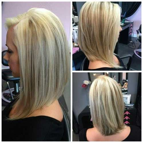 27 Beautiful Long Bob Hairstyles: Shoulder Length Hair Cuts ...