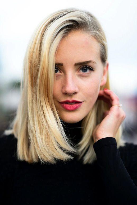 Tremendous 27 Beautiful Long Bob Hairstyles Shoulder Length Hair Cuts Hairstyles For Women Draintrainus