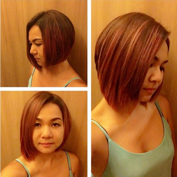 Medium, Straight Bob Haircut
