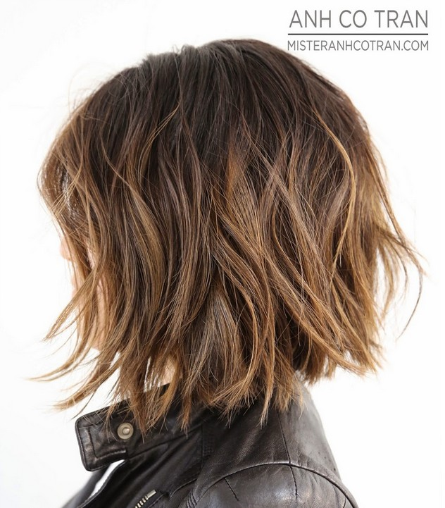 Short Gy Bob Haircut For Thick Hair