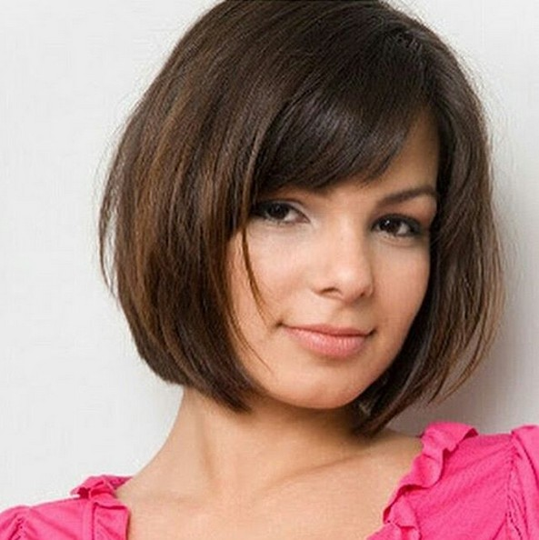 Cute Easy Short Haircut Ideas Round Faces