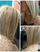 angled long bob hairstyle for women 1