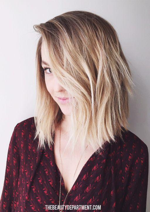 Haarfarbe fur ombre hair