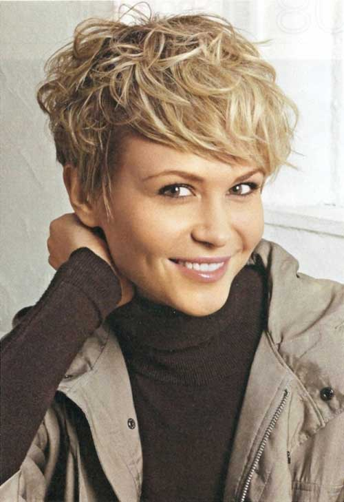 20 Lovely Wavy   Curly Pixie Styles  Short Hair - PoPular Haircuts 7c4605aadcaa