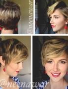 easy daily haircut long pixie cut for women