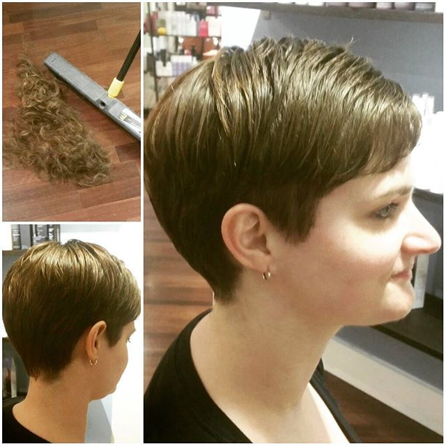 easy daily short haircut - pixie cut for busy women