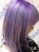 medium pastel hairstyles for straight hair