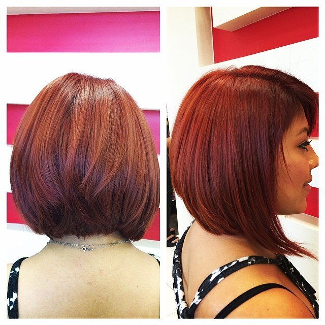 medium bob haircuts for thick hair 23 bob haircuts amp styles for thick hair 1740