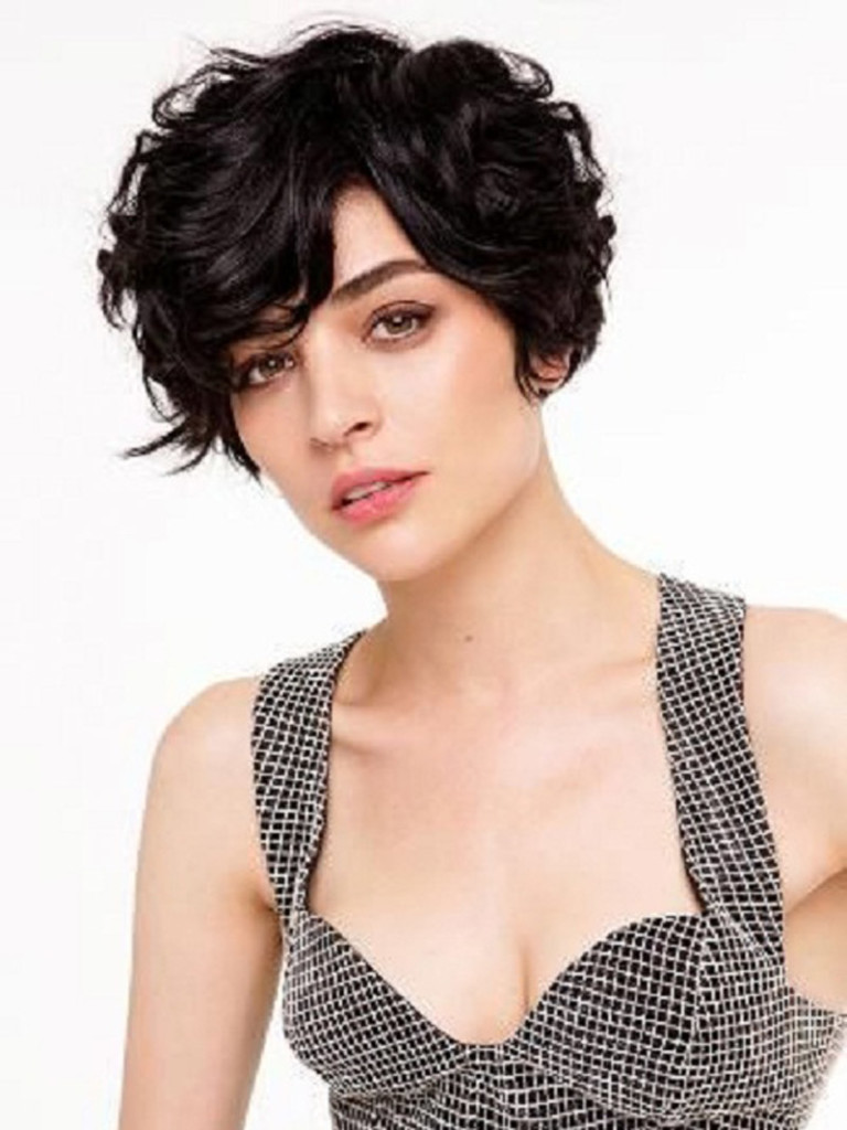 20 lovely wavy & curly pixie styles: short hair - popular haircuts