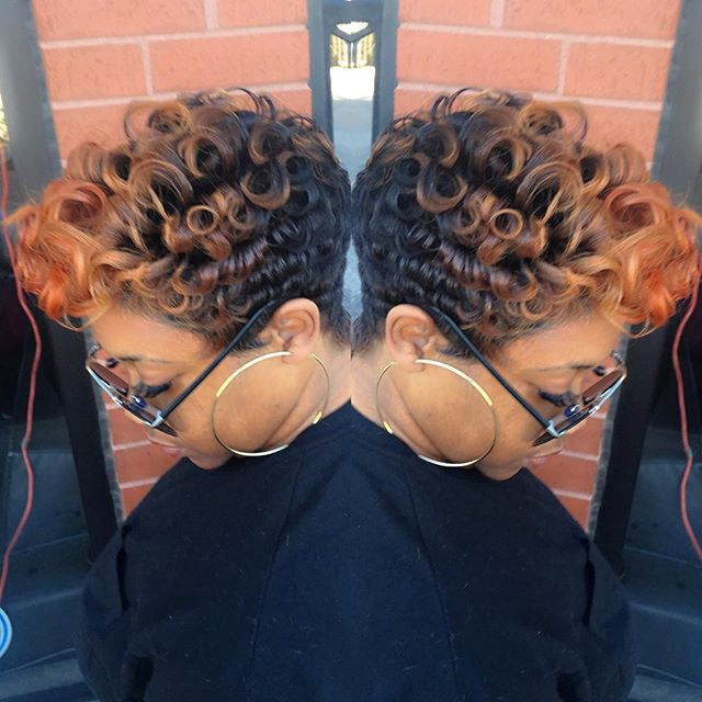 20 Lovely Wavy Amp Curly Pixie Styles Short Hair Popular